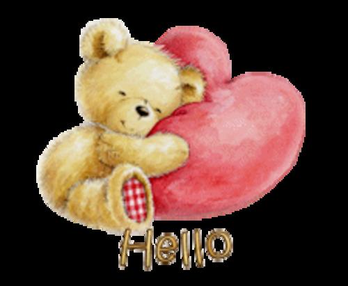 Hello - ValentineBear2016