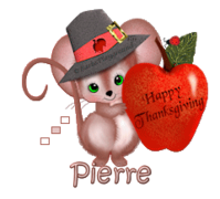 Pierre - ThanksgivingMouse