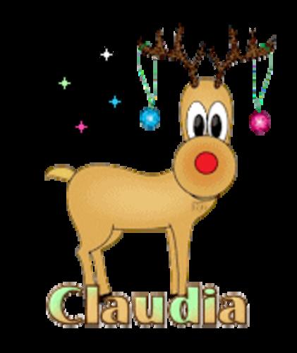 Claudia - ChristmasReindeer