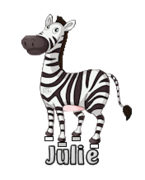 Julie - DancingZebra