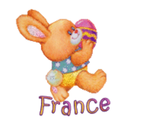 France - EasterBunnyWithEgg16