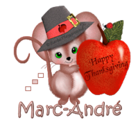 Marc-Andre - ThanksgivingMouse