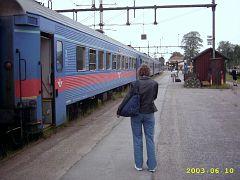 Per Bahn nach Schweden