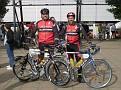 Manfred und Andreas startklar PBP 2007