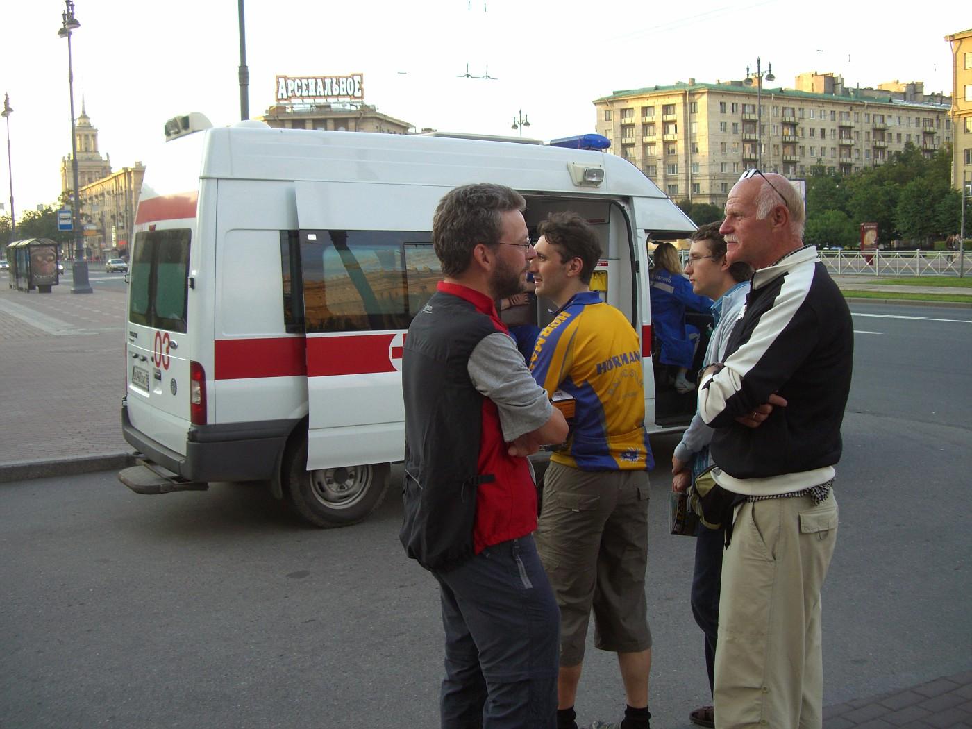 Ivo, Mikhail, und Claus