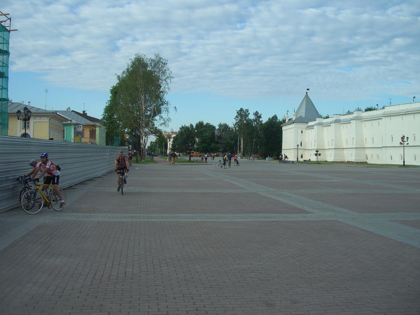 Der Kreml-Platz in Vologda