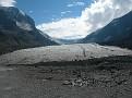 The glacier's toe