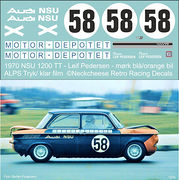 DE-015 1970 NSU 1200TTS Leif Pedersen (DK) Dark blue/orange carl
