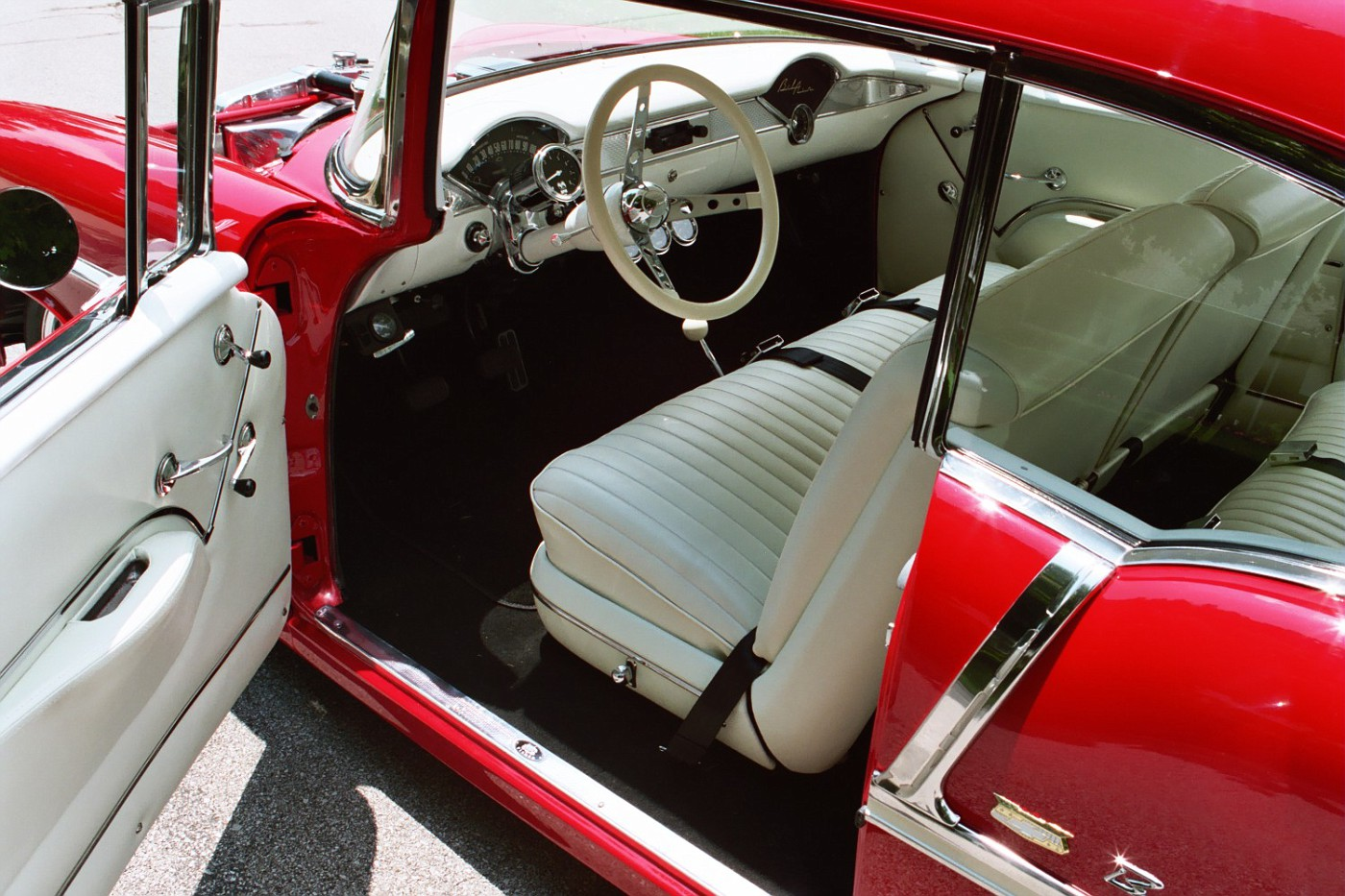Photo: 55 Chevy Old Style Interior | 1955 Chevy Bel Air Sport ...
