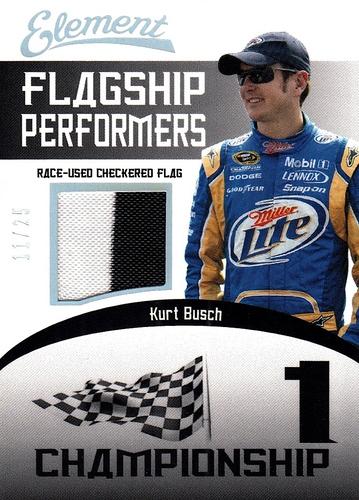 Flag Kurt Busch 2011