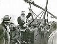Fred Barberi (Santa) and Don LaRussa (right center)  Christmas 1948