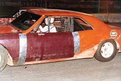 Sherrie in the Power Puff race 1979 at Sayre