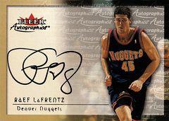 2000-01 Autographics Raef LaFrentz (1)