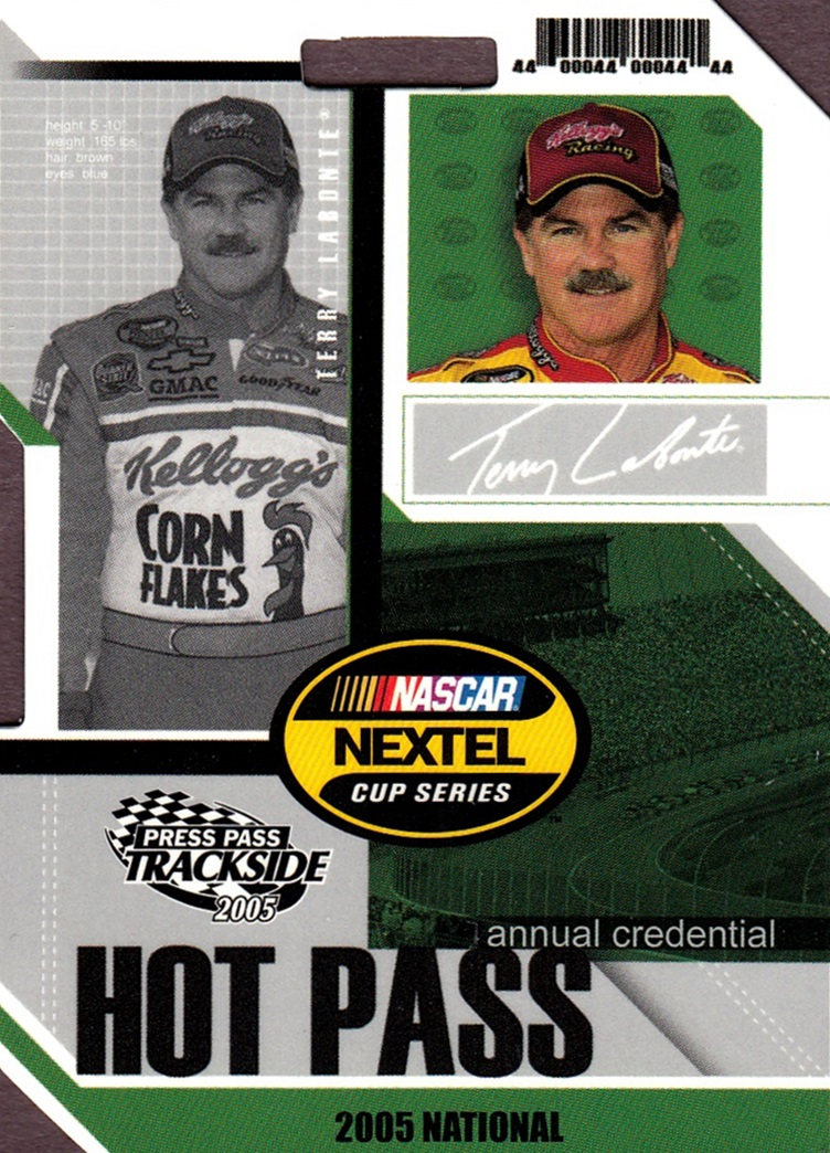 2005 Trackside Hot Pass National #HP11 (1)
