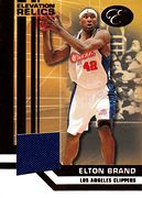 2007-08 Bowman Elevation Relics Elton Brand (1)