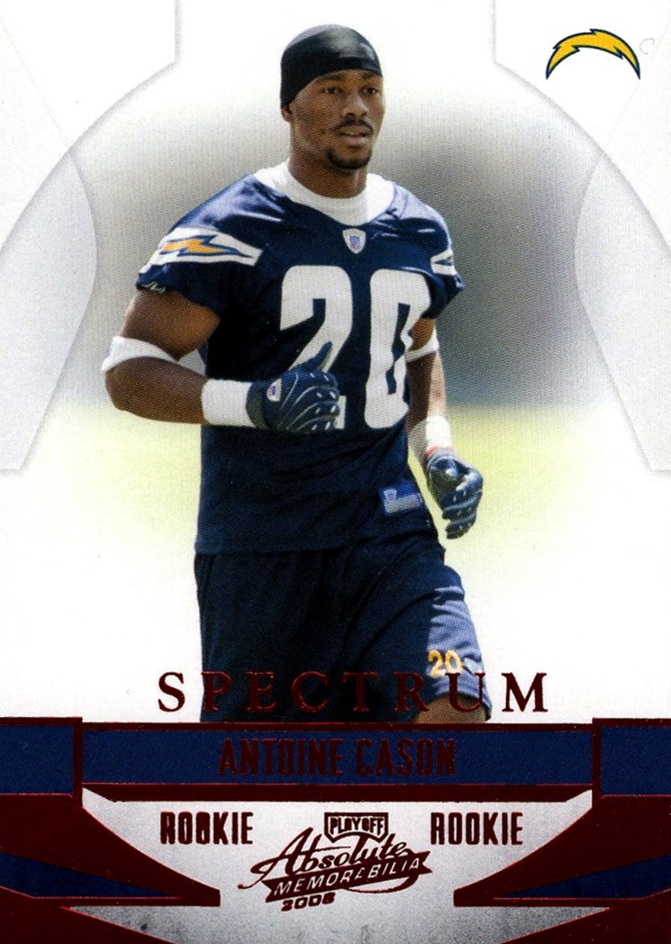 2008 Playoff Absolute Memorabilia Spectrum #157 (1)