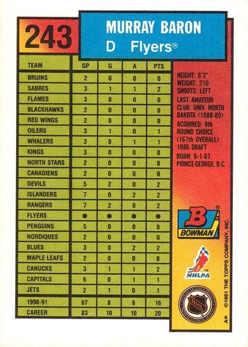 1991-92 Bowman #243 (2)