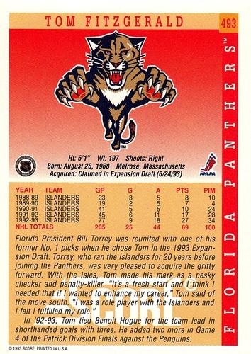 1993-94 Score #493 (2)