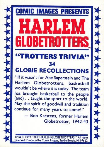 1992 Harlem Globetrotters #34 (2)