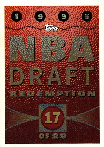1995-96 Topps Draft Redemption #17 (1)