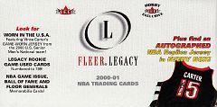 2000-01 Fleer Legacy (2)