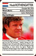 1987 Ace Fact Pack Huub Rothengatter