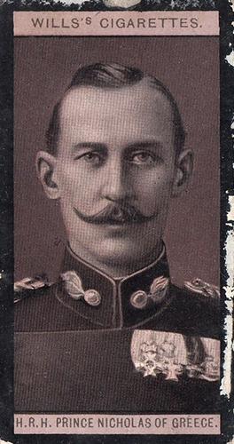 1908 Wills European Royalty #085 (1)