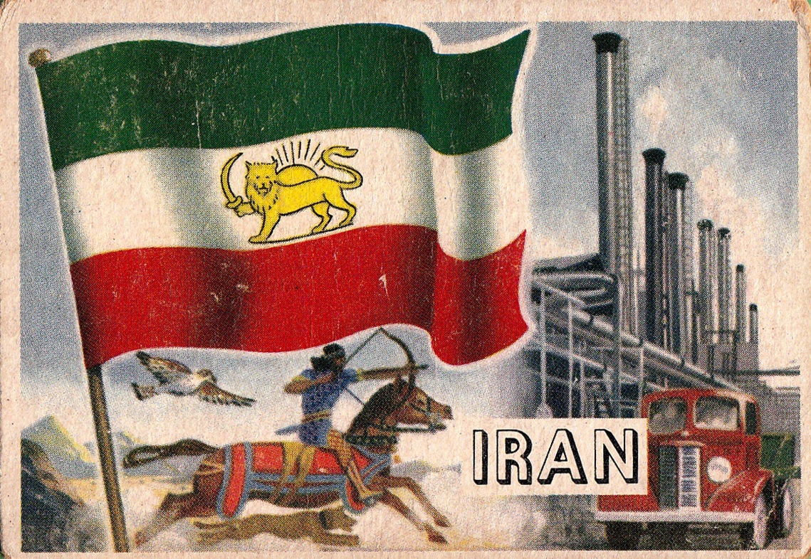 1956 Topps Flags of the World #02 (1)