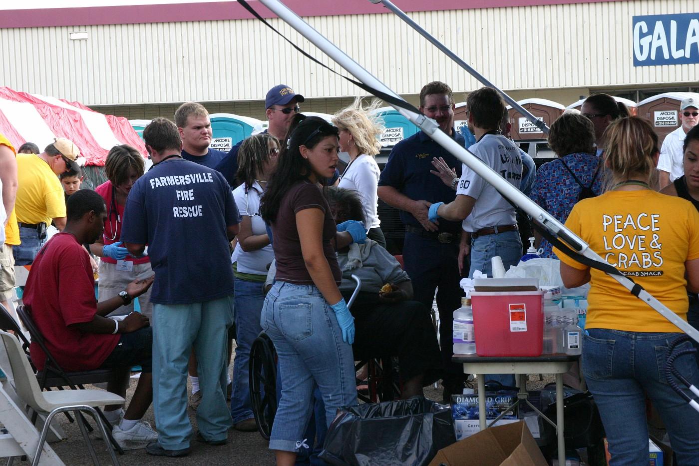 Aid station