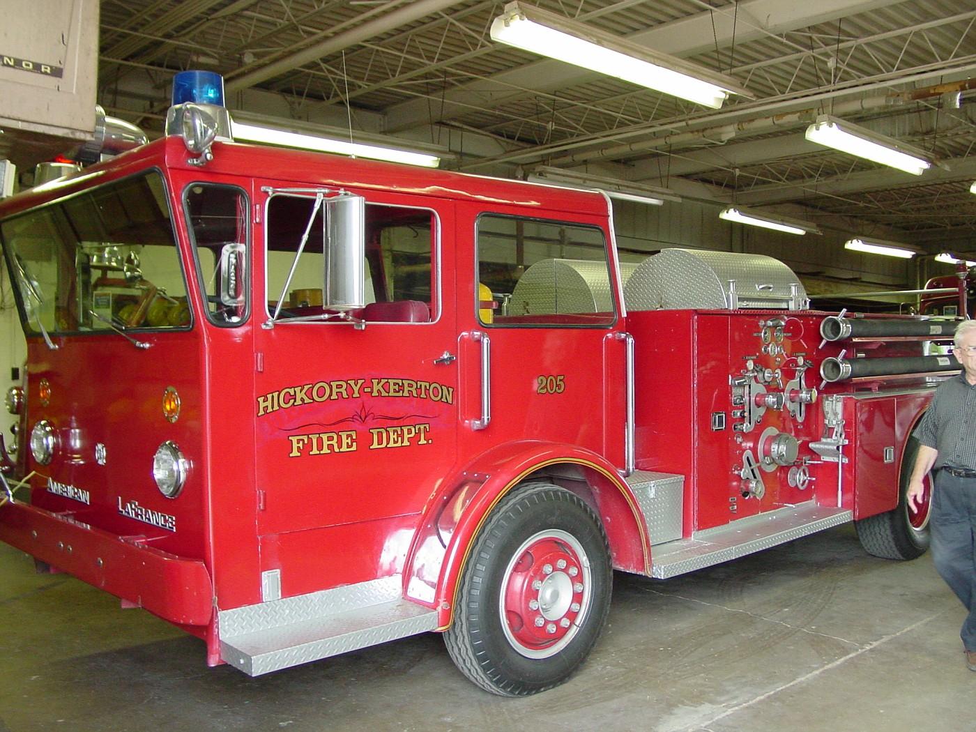 Texas Fire Museum - 1966 American LaFrance Pioneer