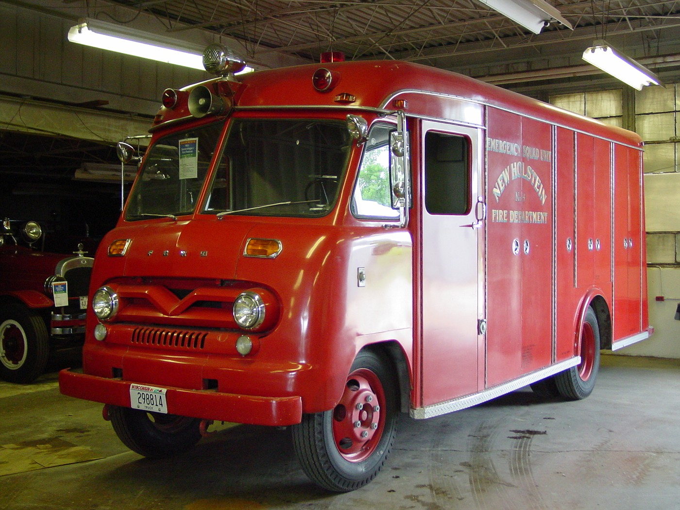 Texas Fire Museum - 1961 Ford/Gerstenslager