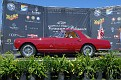1960 Ferrari 250 PF coupe owned by Paul and Sherrill Colony award