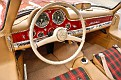 1956 Mercedes-Benz 300 SL dash owned by Jay and Bonnie McDonald