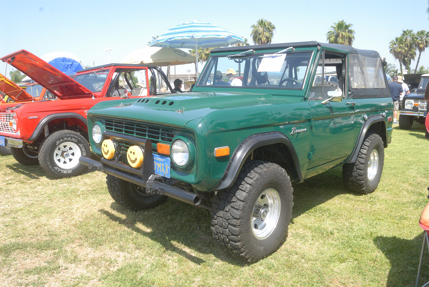 1970 Ford Bronco owned by Ron Wilson DSC 4916