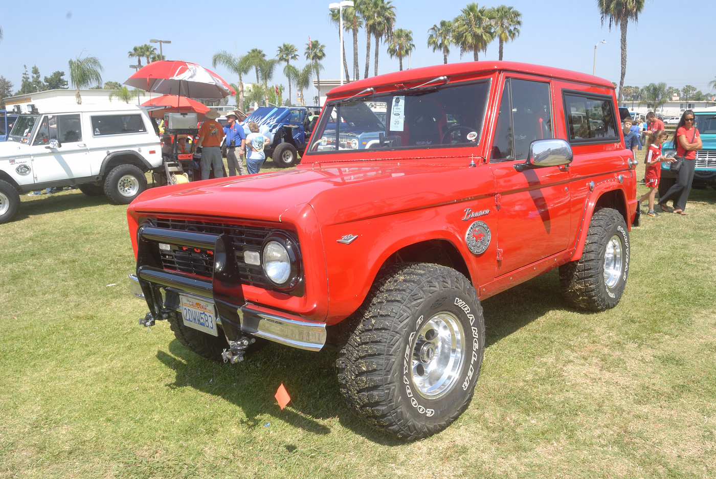 19XX Ford Bronco owned by Russ Meskell DSC 4908