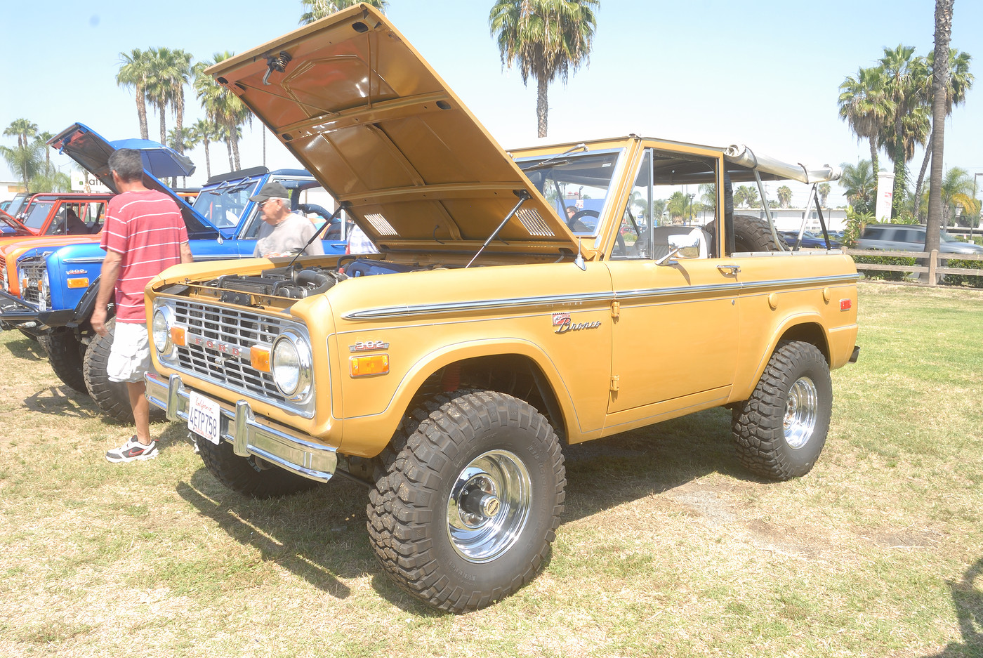 19XX Ford Bronco owned by Andrew L  Bergloff DSC 4877