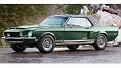 Shelby Mustang 1968 EXP Green Hornet body side front