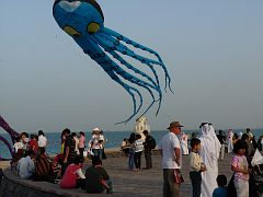 90 foot octopus in Qatar