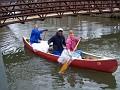 Canoe Skim Trash