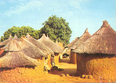 Burkina Faso - TRADITIONAL HOUSES NS