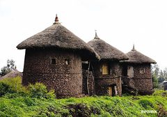 Ethiopia - TRADITIONAL HOUSES NS
