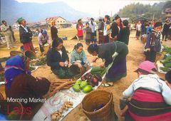 Laos - Muang Khun Morning Market NT
