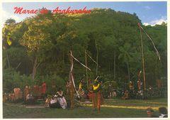 French Polynesia - Marae de Arahurahu NF