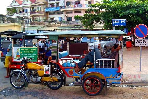 Novel Cambodian transportation