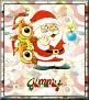 Santa with friendsTaJimmy