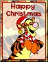 Tigger as SantaTaHappy Christmas