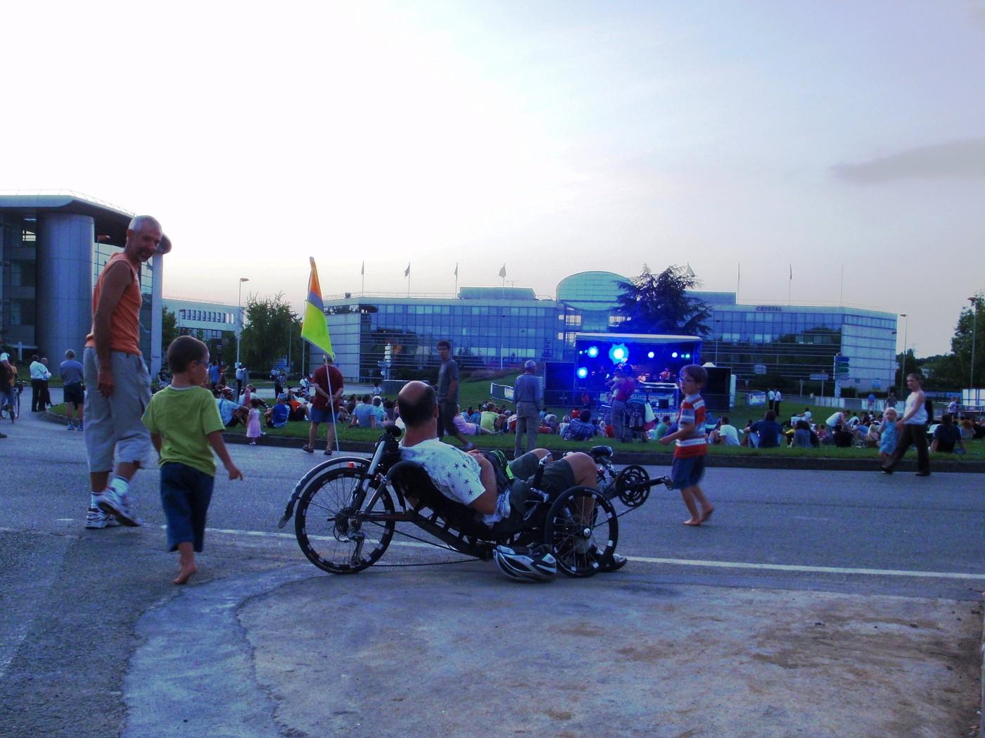 Open air music festival
