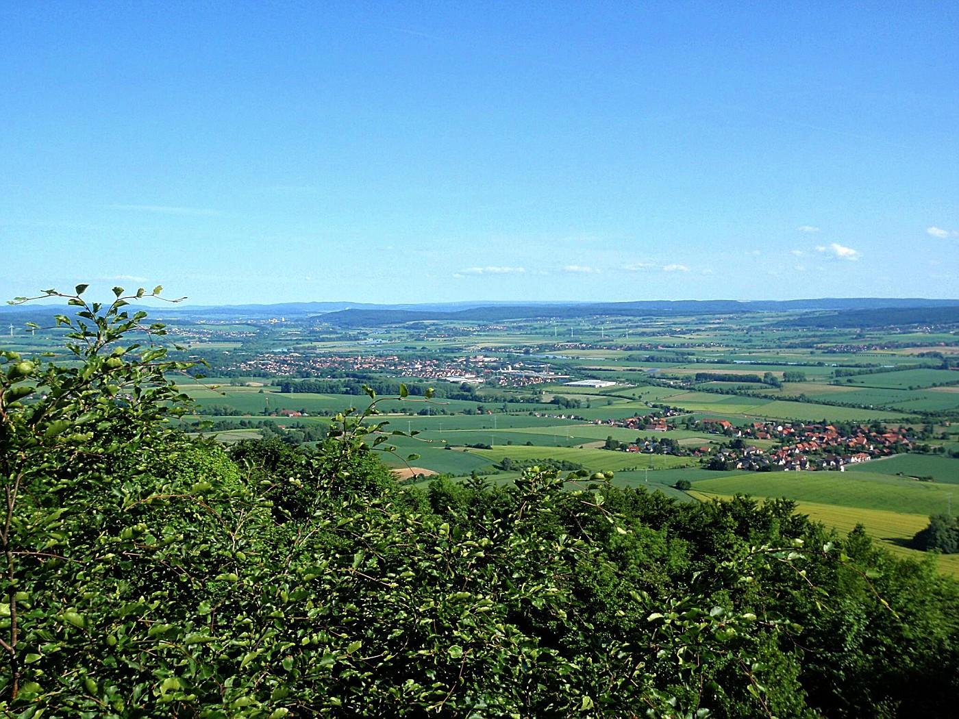 Blick von der Paschenburg
