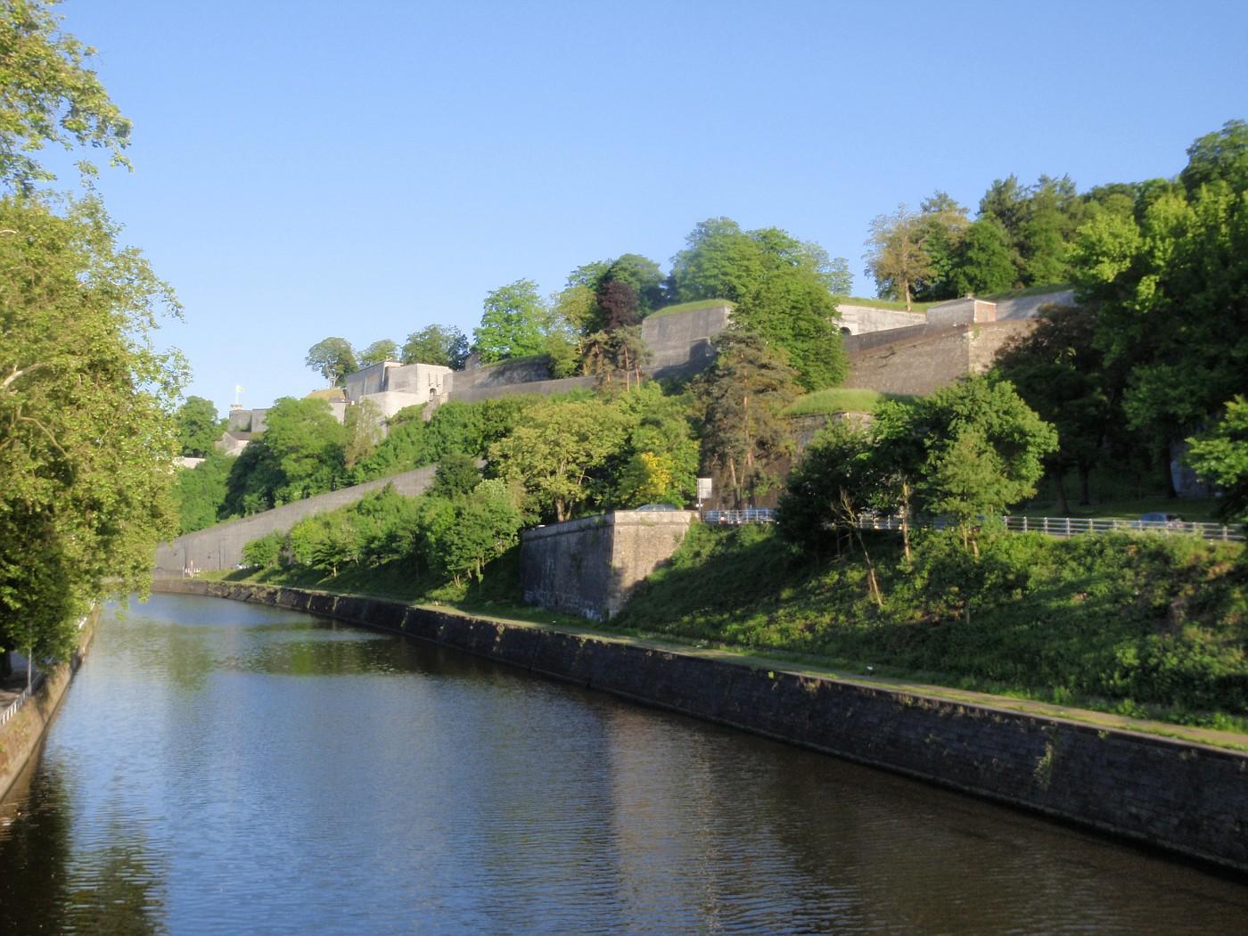 Sambre und Zitadelle Namur