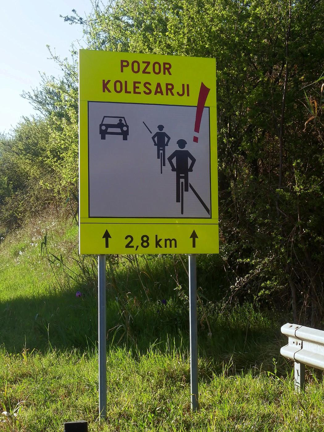 Achtung Radfahrer